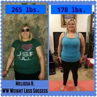 Weight Watchers Success Melissa Herb