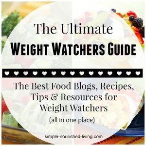The Ultimate Weight Watchers Recipe Blog Resource Guide