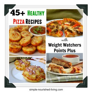 Healthy Recipes Pizza Weight Watchers Points Plus