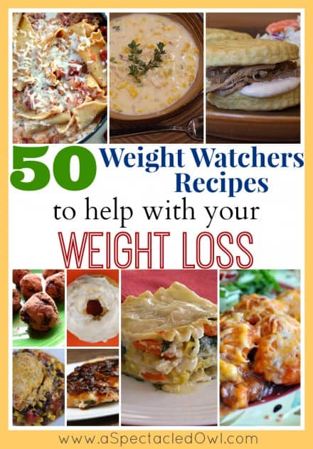 Weight Watchers Recipes with Points RoundUps