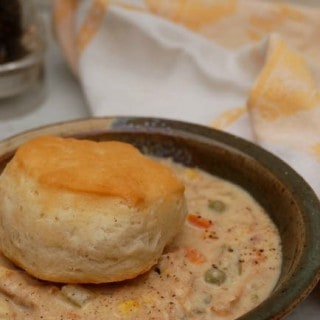 SkinnyTaste Chicken Pot Pie Soup