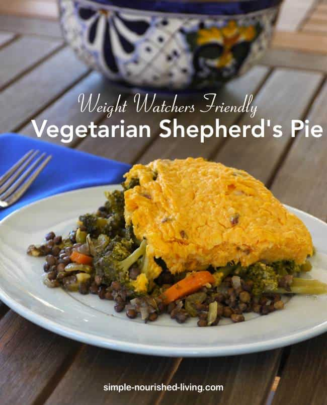Vegetarian Shepherd's Pie Recipe - Simple Nourished Living