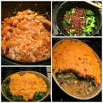 Making Vegetarian Shepherdless Pie