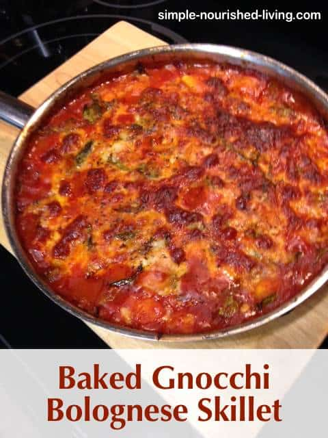 Baked Gnocchi Bolognese Recipe