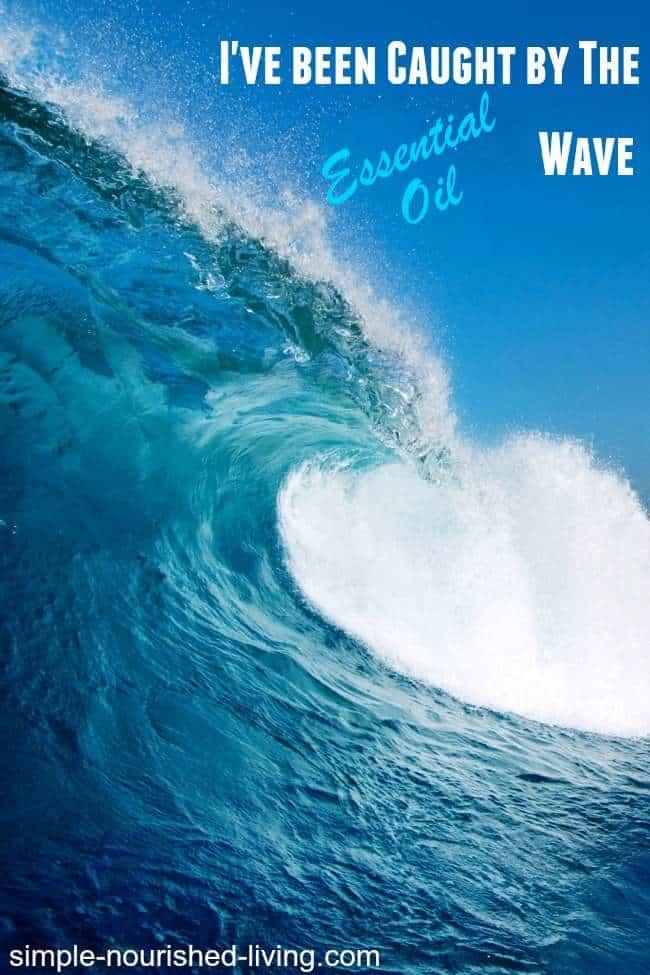 big blue essential oil wave