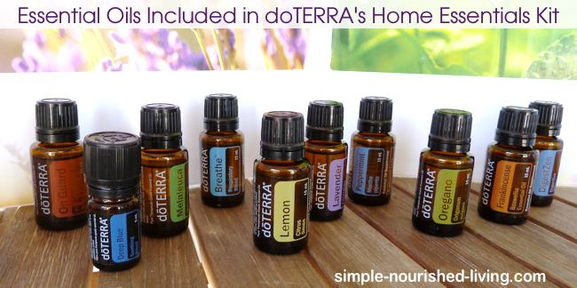 Request Sample Essential Oils from Simple Nourished Living