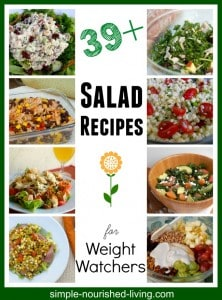 weight watchers salad recipes with points plus