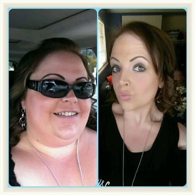 Before and After Weight Loss Success Story with Melissa K