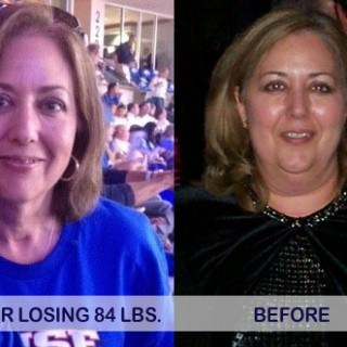 Before and After Janelle S. - Another Weight Watchers Success Story