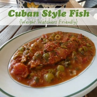 Light and Healthy Cuban Fish Recipe