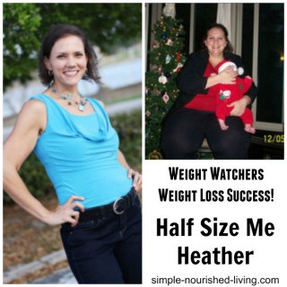 Weight Watchers Success Story – Half Size Me Heather