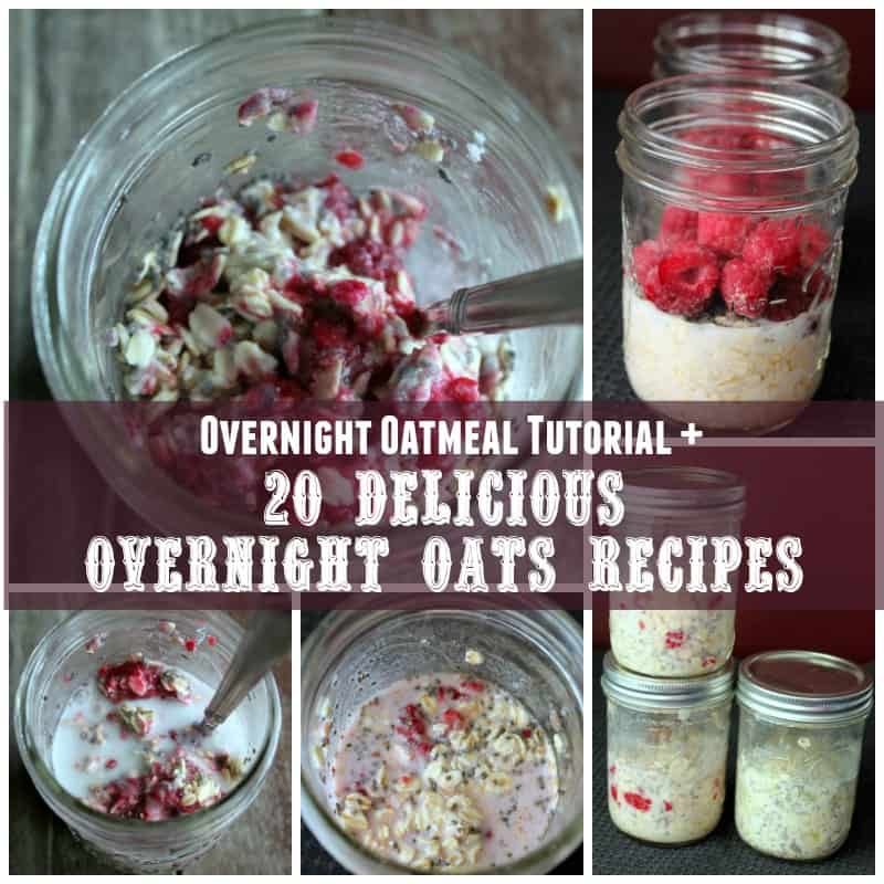 Weight Watchers Recipes oats in jars