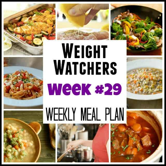Weight Watchers Meal Plans with Points