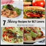 skinny blt recipes collage weight watchers