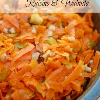 Weight Watchers Carrot Salad with Raisins