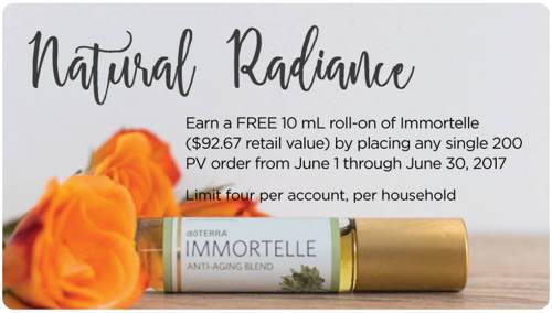 doTERRA's Immortelle Anti-Aging Essential Oil Blend