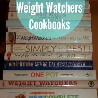 The Best Weight Watchers Cookbooks