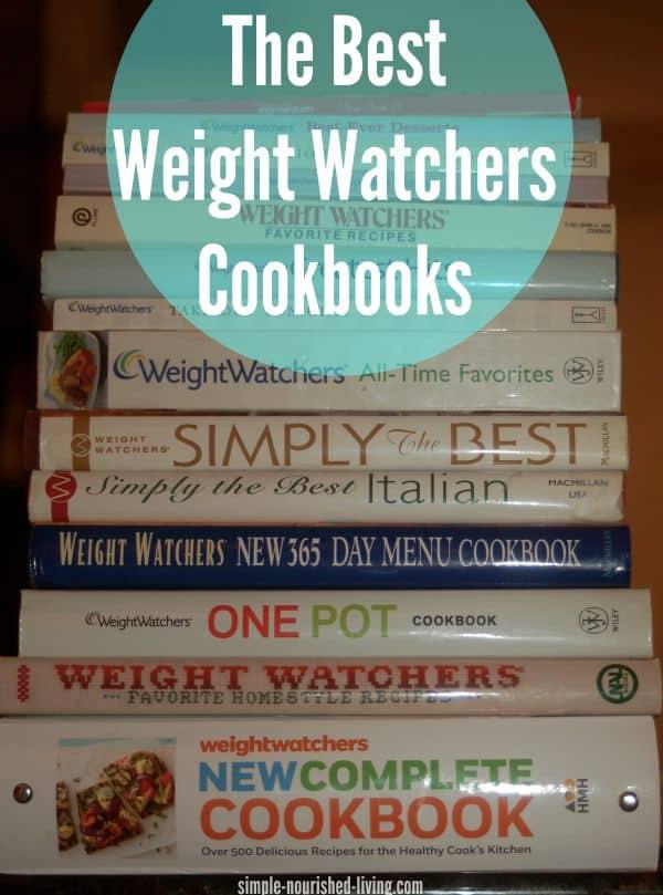 The Best Weight Watchers Cookbooks