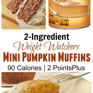 Weight Watchers Pumpkin Spice Cake Mix Muffins – 2 PointsPlus