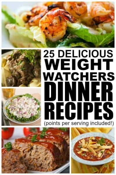 25 Weight Watchers Recipes for Dinner
