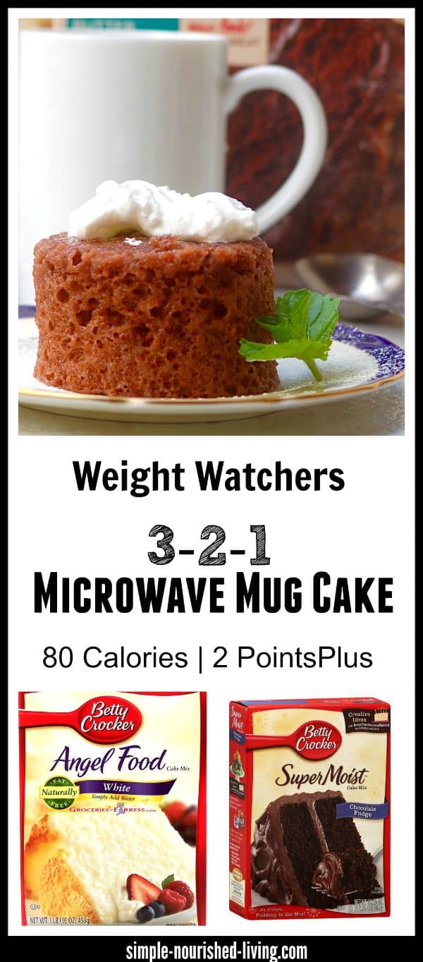 Weight Watchers Chocolate Mug Cake