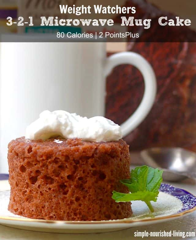 Weight watchers 3 2 1 microwave mug cake 2 wwpp 3 smartpoints easy weight watchers 3 2 1 microwave mug cake recipe forumfinder