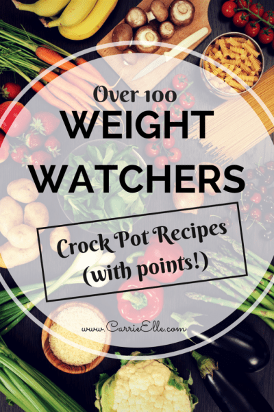 Weight Watchers Recipes for the Crock Pot