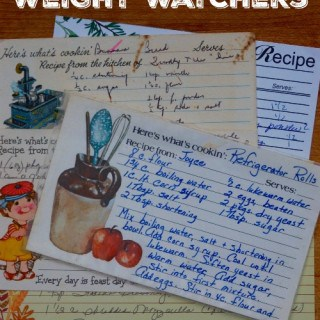 The Perfect Recipe for Weight Watchers