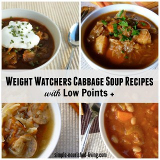Weight Watchers Cabbage Soup Recipes – 0 to 5 Points +