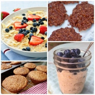 Oatmeal Recipes for Breakfast & Beyond with Weight Watchers Points