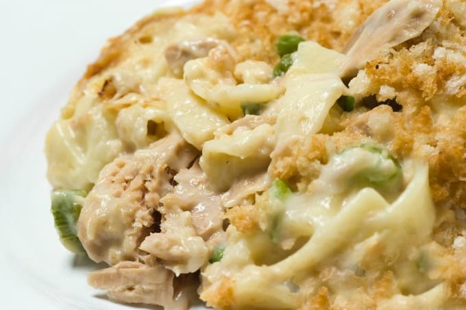 Classic Tuna Noodle Casserole Weight Watchers