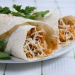 Weight Watchers Slow Cooker Two Bean Burritos - 6 SmartPoints