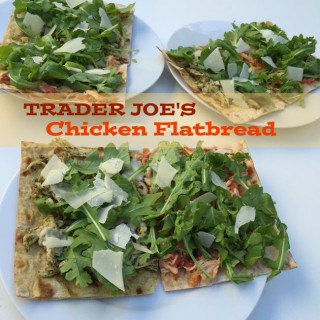 Weight Watchers 20 Minute Lunch: Trader Joe's Chicken Flatbread – 8 SmartPoints