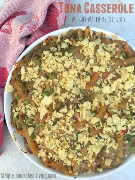 Skinny Tuna Noodle Casserole Recipe — Dishmaps