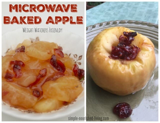 Weight Watchers Microwave Baked Apple Recipe Points