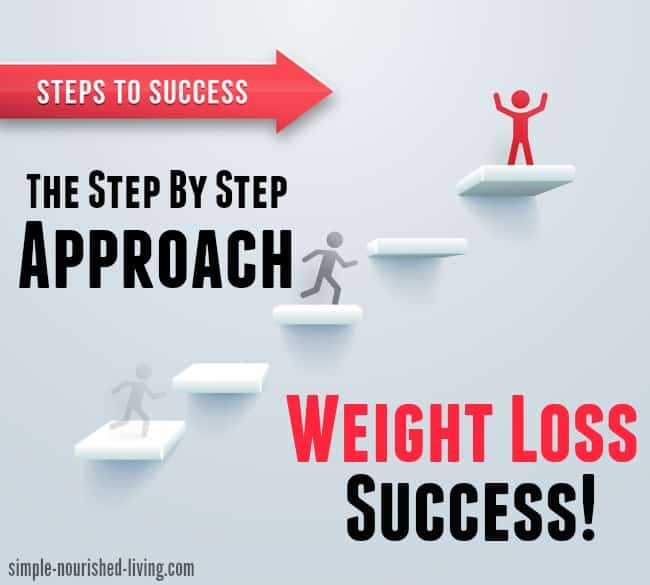 Step by step approach to weight loss success weight watchers