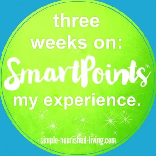3 Weeks on Weight Watchers New SmartPoints Beyond The Scale Program