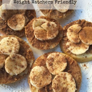 "Healthy Sugar-Free Sliced Apple ""Cookies"" – 3 SmartPoints"