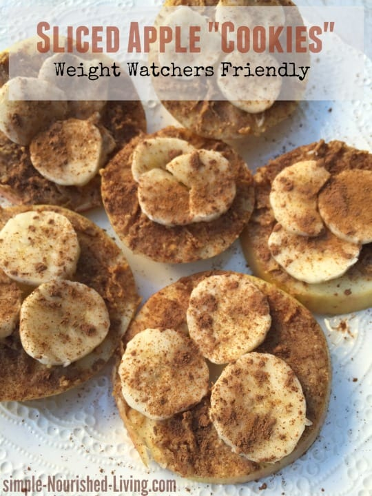 Sliced Apple Cookies Weight Watchers Recipe 3 Smart Points Plus