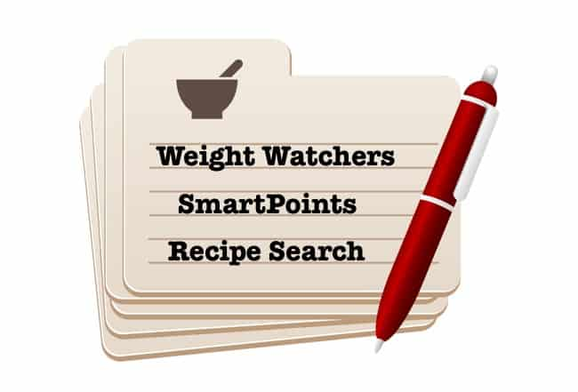 Find your favorite Weight Watchers Recipes with New SmartPoints