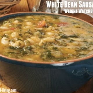 Weight Watchers White Bean Sausage Soup with Escarole Recipe - 4 SmartPoints