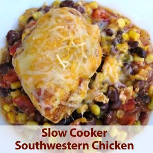 Healthy Southwestern Slow Cooker Chicken