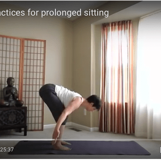 Yoga Poses for Prolonged Sitting