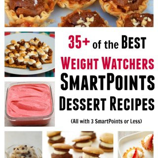 Weight Watchers SmartPoints Desserts
