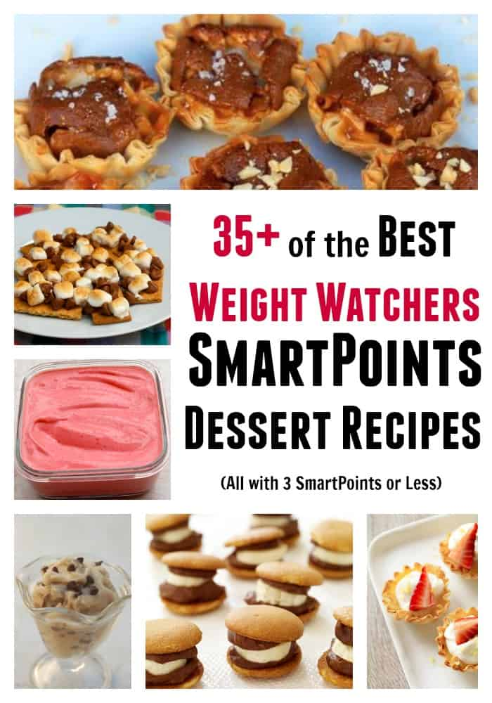 Favorite Weight Watchers SmartPoints Dessert Recipes