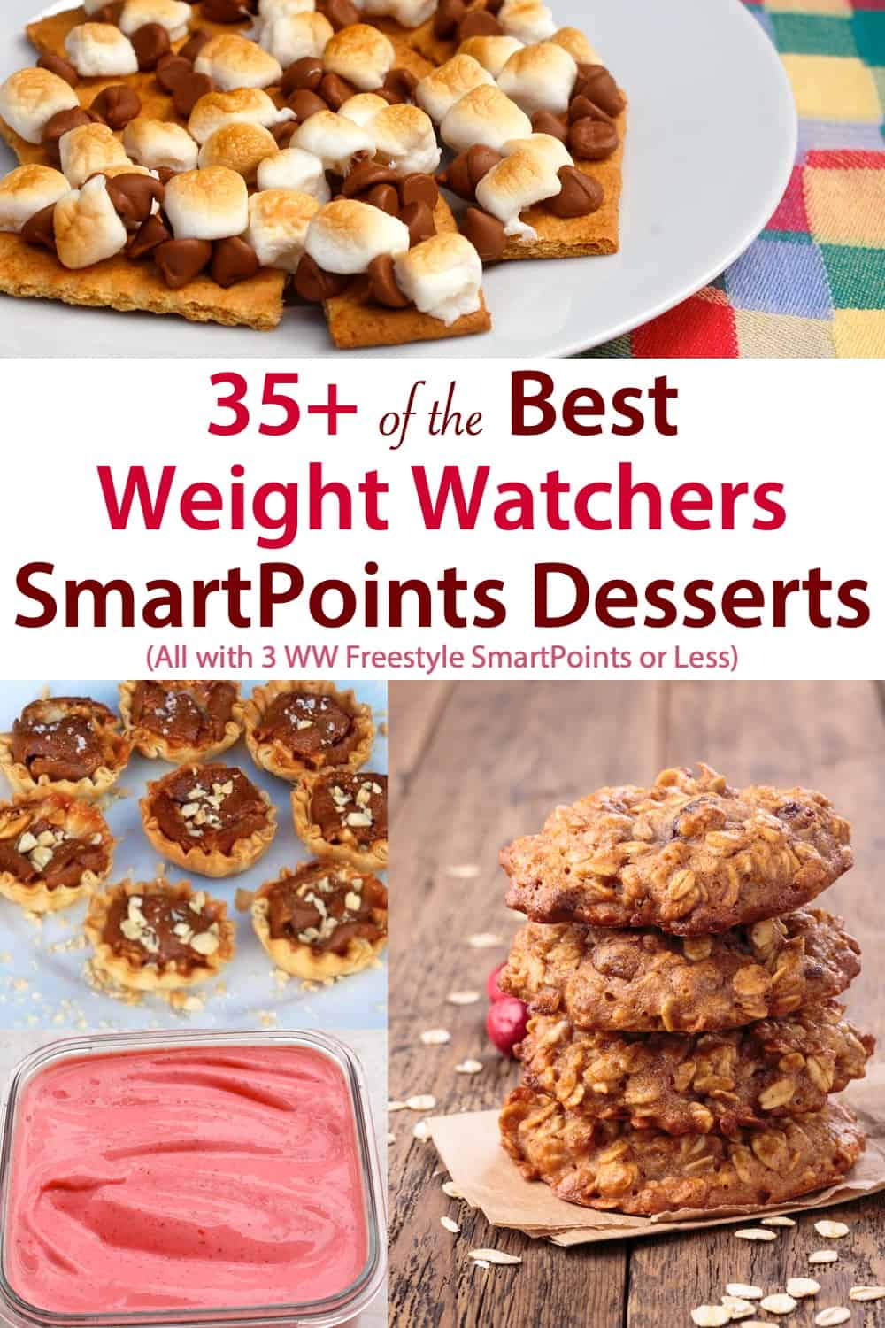 Favorite Weight Watchers Freestyle Sweet Treats and Dessert with 3 Freestyle SmartPoints or Less! #wwfreestyledesserts #dessert #ww #wwfamily #weightwatchers #3smartpointsorless