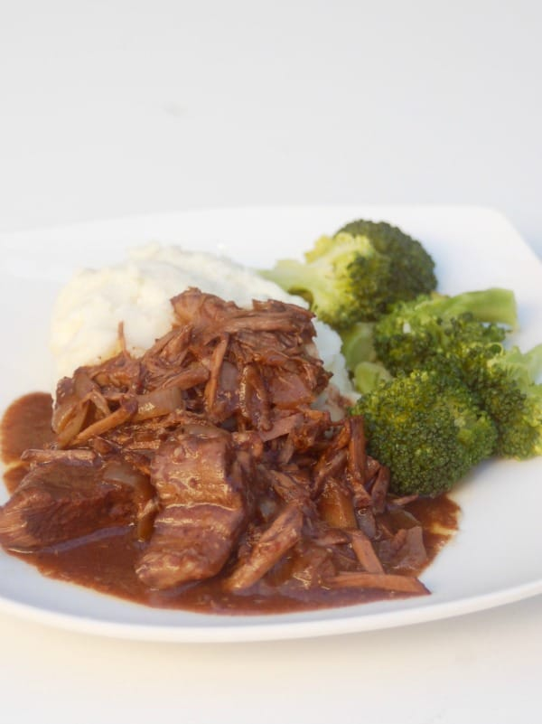 Slow Cooker Balsamic Beef snl