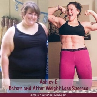 Weight Watchers Success Story #16 – Ashley F.