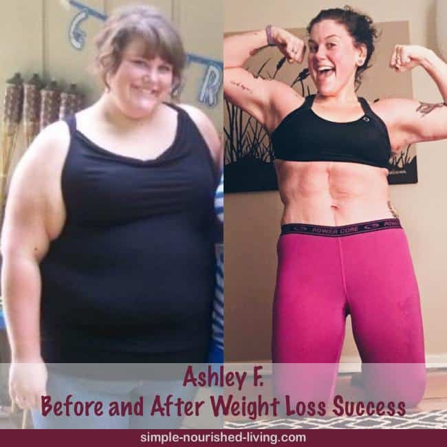 Ashley's Weight Loss Success Story