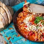 Skinny Pepperoni Pizza Chili